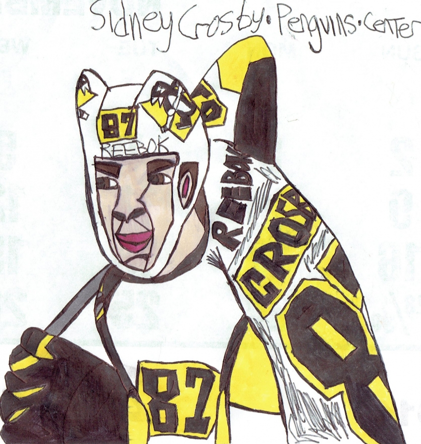 Sidney Crosby by armattock